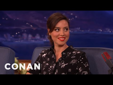 Aubrey Plaza: 'I've Been Very Hormonal Lately'  - CONAN on TBS