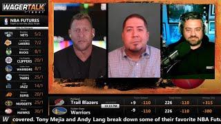 NBA Prop Bets and Futures | 2021-22 NBA Betting Preview | NBA Championship Odds | NBA MVP Odds