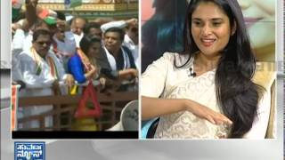 Divya Spandana _ Ramya - Election 2014 (ಎಲೆಕ್ಷನ್ 2014) Seg _ 1 - Suvarna News