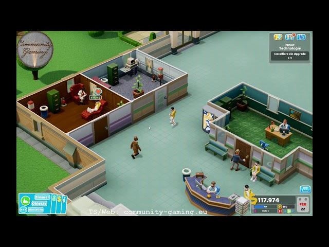 3 Sterne und ein neues Krankenhaus | Folge #004 | Let's Play Two Point Hospital