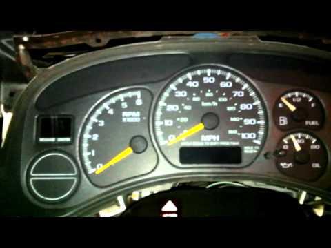 Odometer/Gear Shifter (PRNDL) Display FIX - GMC/Chevy