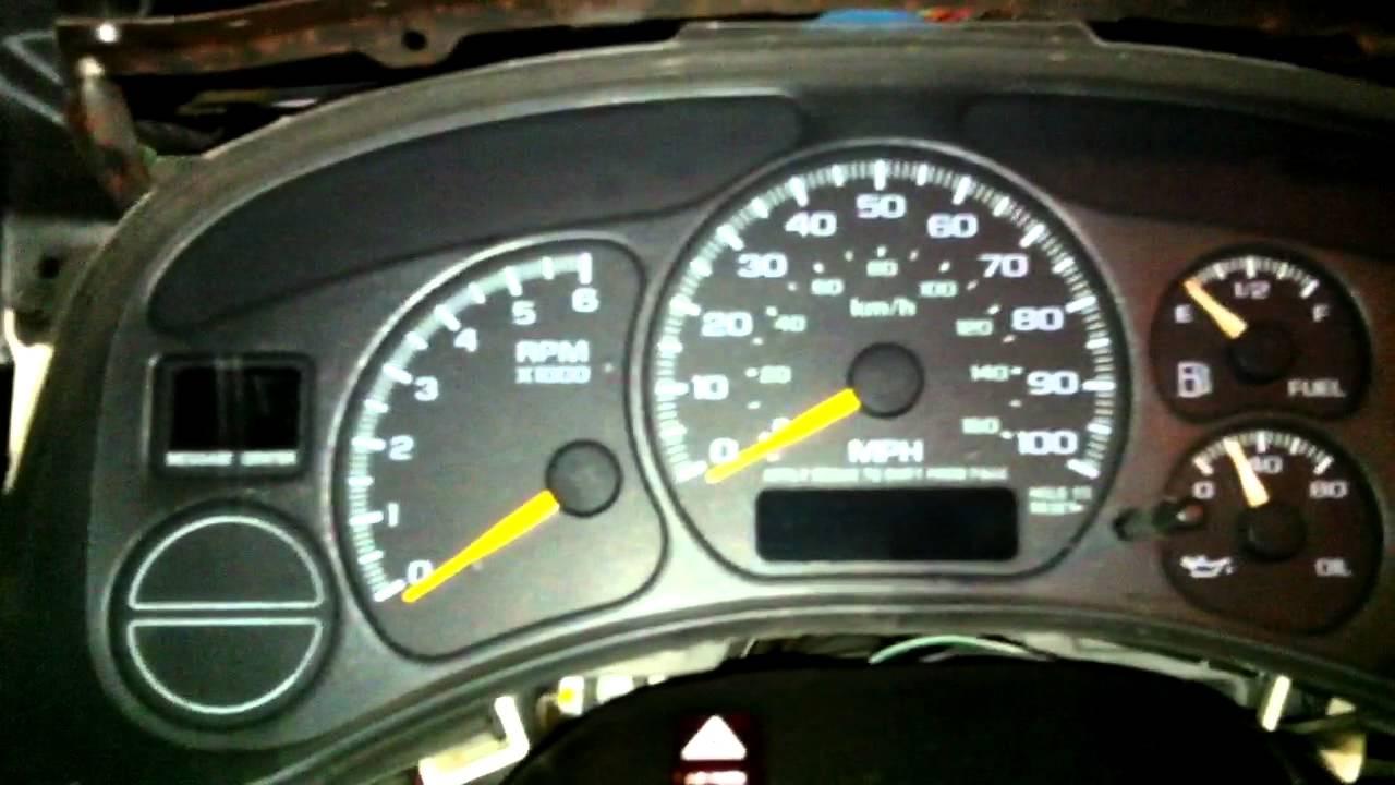 1996 Gmc Radio Wiring Diagram Odometer Gear Shifter Prndl Display Fix Gmc Chevy