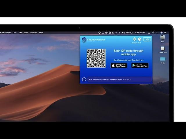 Secure ID MacLock - How to setup MacLock app?