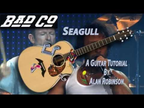 Seagull - Bad Company - Acoustic Guitar Lesson (easy-ish)