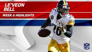 Le'Veon Bell's Big Game w/ 179 Rush Yards & 1 TD 🔔 | Steelers vs. Chiefs | Wk 6 Player Highlights