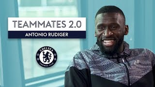 """Download """"If you don't like Kante, then you've got problems!""""   Antonio Rüdiger   Chelsea Teammates 2.0 Mp3 and Videos"""