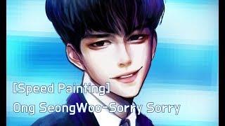 Video [Speedpaint]Produce 101  Ong Seongwoo Fan Art- Sorry Sorry download MP3, 3GP, MP4, WEBM, AVI, FLV November 2017