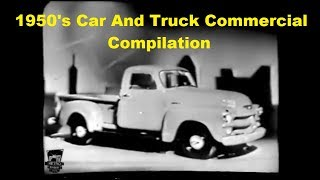 1950's Car And Truck Commercial Compilation Vol. 1