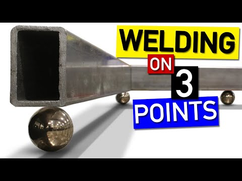 How to Weld Without a Welding Table. Fixture Like This To Make It Flat