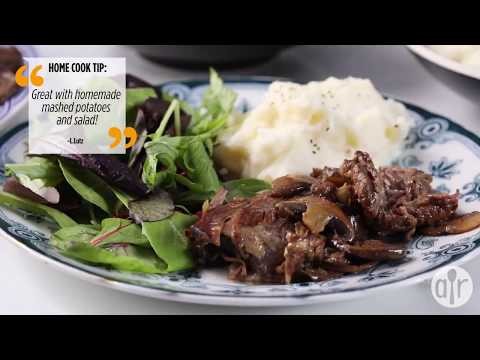 How To Make Mushroom Slow Cooker Roast Beef | Slow Cooker Recipes | Allrecipes.com