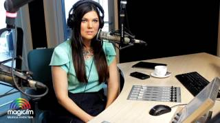 Paula Seling in studioul MagicFM