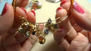 BUtton Dangles & adjustable bracelet tutorial