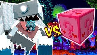 MONSTRO DE GELO VS. LUCKY BLOCK AMOR (MINECRAFT LUCKY BLOCK CHALLENGE)