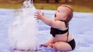 Я Ржал До Слез Приколы Смешные Видео Забавный момент когда детская водная горка провалилась