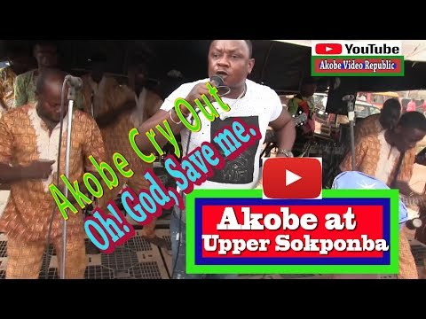 Akobe first Show at Upper Sokponba After THE CRISI track 3