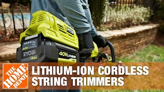 Ryobi Lithium-Ion Cordless String Trimmers