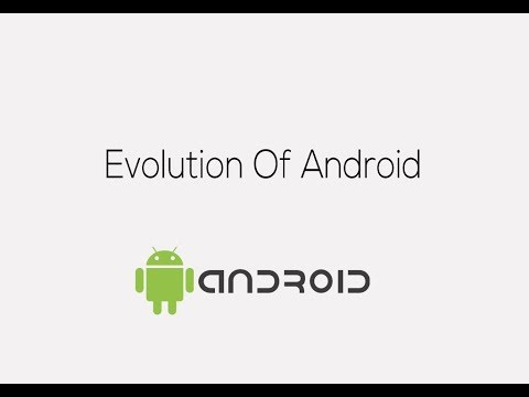 Evolution Of Android OS | 2008-2017 | android operating system | UI | Google