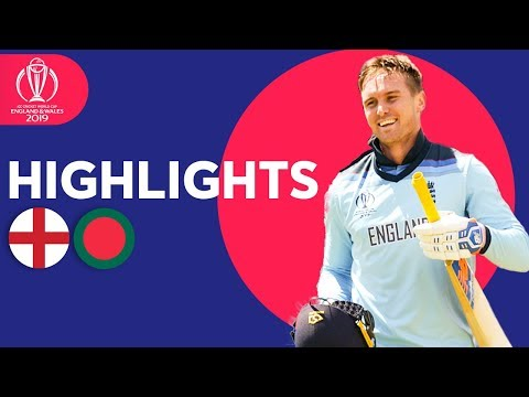 ICC Cricket World Cup 2019: England v Bangladesh: Match 12