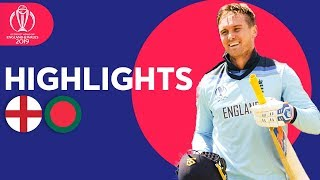 Roy Hits 153 In Big Score | England v Bangladesh - Match Highlights | ICC Cricket World Cup 2019