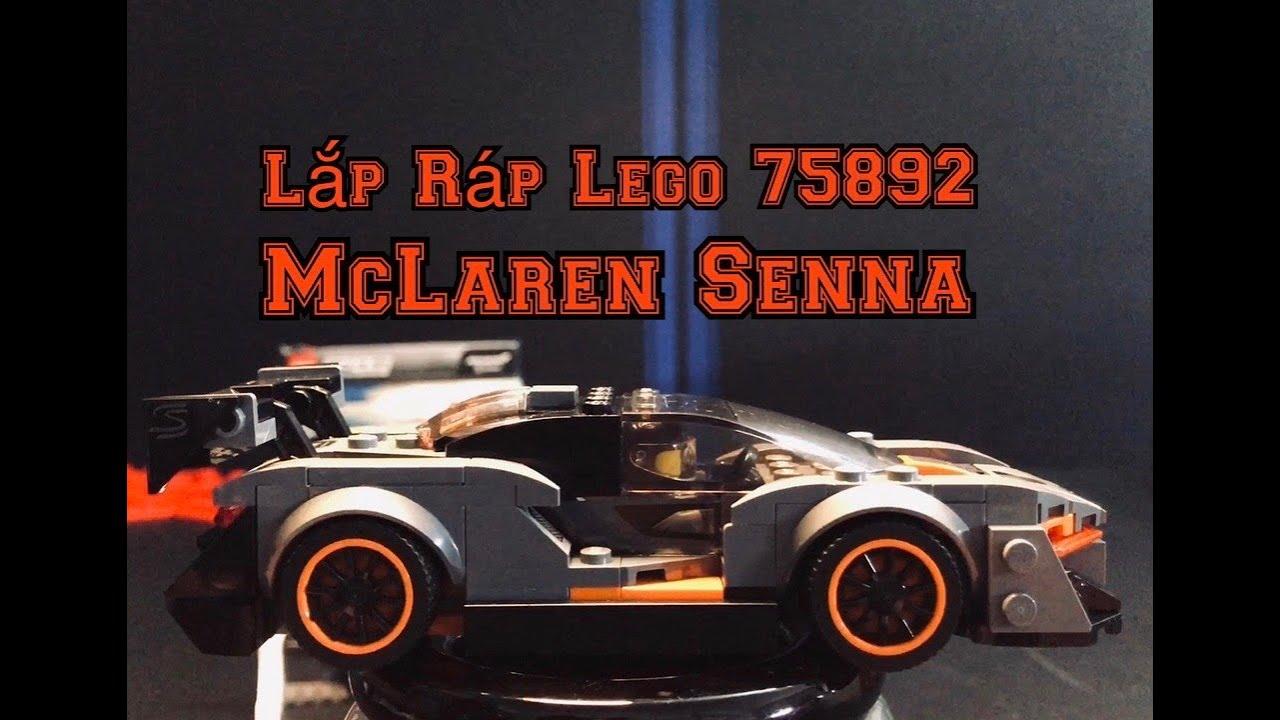 Lắp ráp Siêu xe đua McLaren Senna – Lego Speed Champions_75892