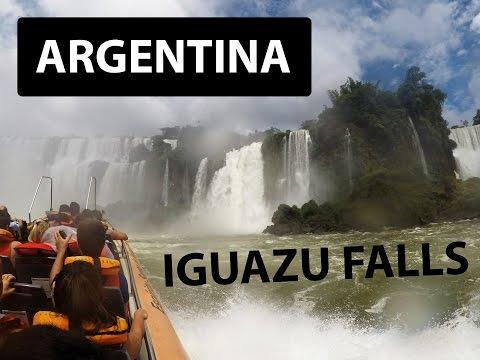 TRAVEL ARGENTINA - IGUAZU FALLS CRAZY BOAT RIDE