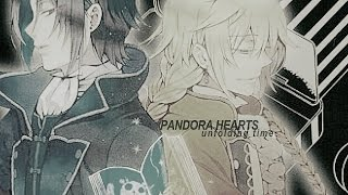 unfolding time | pandora hearts