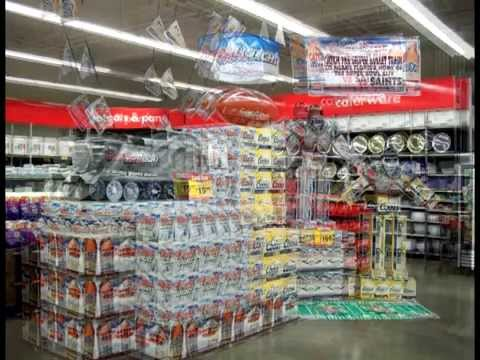 coors light beer display