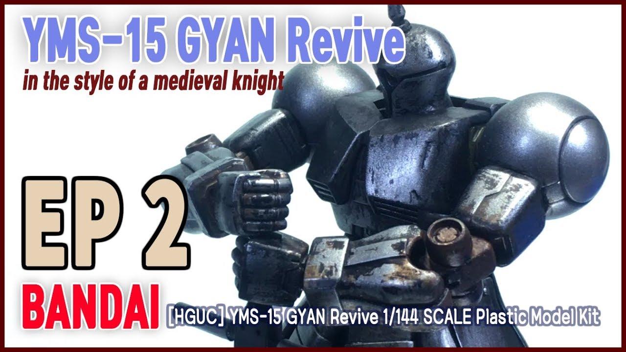 Bandai 1//144 HGUC 002 YMS-15 Gyan