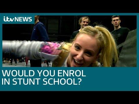 Essex stunt school wants more women to enrol | ITV News