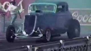 34 ford vs fuel dragster