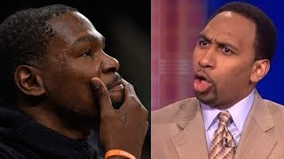 """Kevin Durant BLASTED by Stephen A Smith: """"He"""