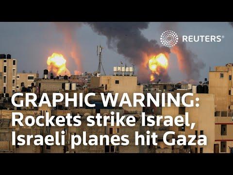 Israel trade blows as unrest ignites Gaza