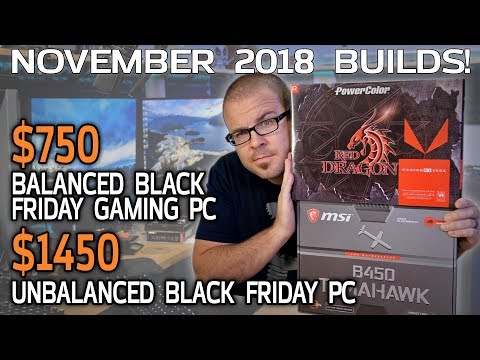 BY REQUEST: Awesome Gaming PC for about $750 - November 2018 Builds