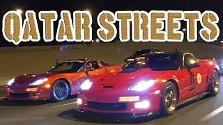 Qatar STREET Racing! - Corvette Showdown
