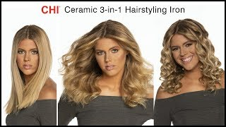 Curl - Straighten - Wave with CHI Ceramic 3-in-1 Hairstyling Iron