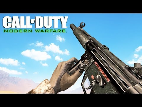 Call Of Duty 4 Modern Warfare ALL Weapons Showcase