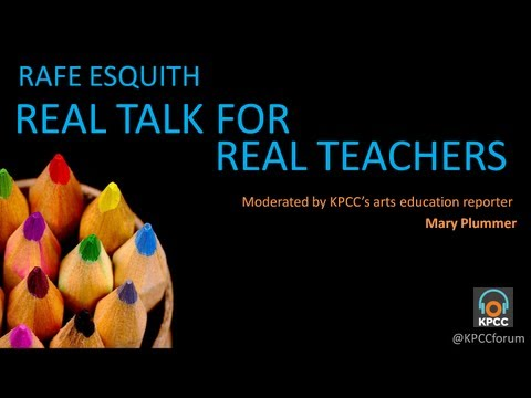 Rafe Esquith's real talk for real teachers - YouTube