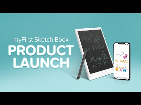 """""""Make Each Art, A Masterpiece"""" myFirst Sketch Book Product Launch 2021"""