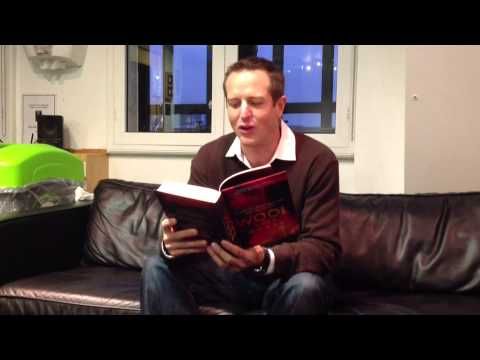 Hugh Howey, author of 'Wool' for the Radio 2 Book Club