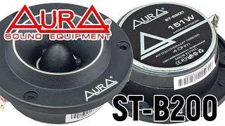 Обзор рупорных твитеров Aura ST-B200