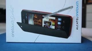 Alcatel One Touch Scribe HD - Unboxing deutsch (Dual-SIM // 8008D)