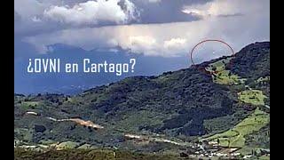 OVNI en  Cartago Costa Rica, setiembre 8 2020