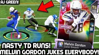 MELVIN GORDON JUKES PLAYERS! AJ GREEN! Madden 19 Ultimate Team