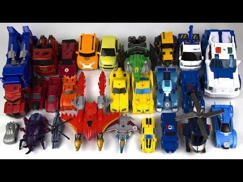 Все Роботы Трансформеры - Мультики про машинки. Игрушки Тоботы