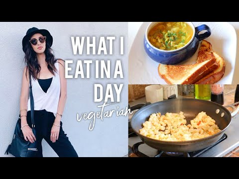 What I Eat in a Day #11 Vegetarian Recipes