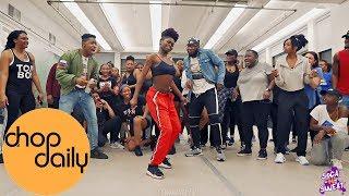 DJ Maphorisa, DJ Shimza, Moonchild Sanelly - Makhe (Dance Class Video) Nigerian Jawn Chor ...