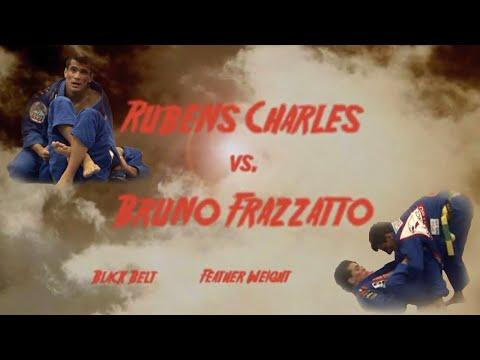"""Rubens """"Cobrinha"""" Charles VS Bruno Frazatto / Pan Championship 2008"""