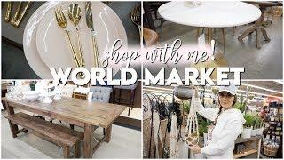 World Market Shop With Me | Most Beautiful Decor! | Vlogmas 2018