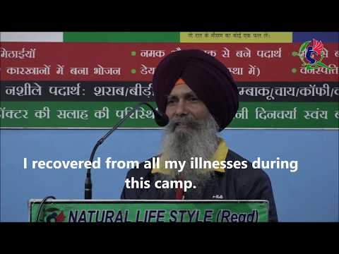 HAIR FALL Problem unbelievable result after following Natural Lifestyle KULVINDER SINGH Chandigarh