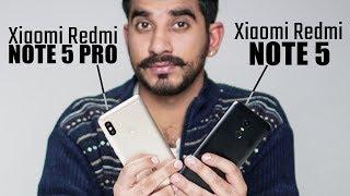 Xiaomi Redmi Note 5 vs Xiaomi Redmi Note 5 Pro Comparison overview Hindi